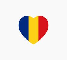 Romania Flag Vector Illustration