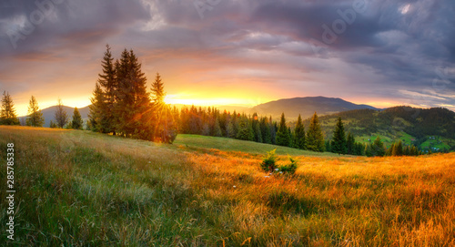 Mountain landscape - 285785338
