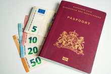Dutch Passport With Euros Next...