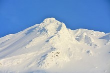 The Ridges Of The Fagaras Mountains Covered With Snow
