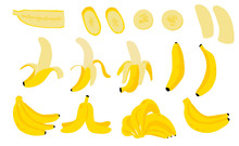 Cute Banana Fruit Object Colle...