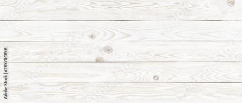Photo sur Aluminium Bois white wood texture background, natural pattern