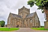 Fototapeta Kamienie - The Cathedral Church of St. Brigid, Kildare in Kildare