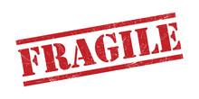 Fragile Stamp Grunge Texture V...