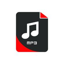 Mp3 File Icon. Logo Element Il...