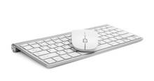 Computer Keyboard With Mouse O...