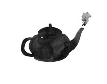 Watercolor Ink Teapot Chinese ...
