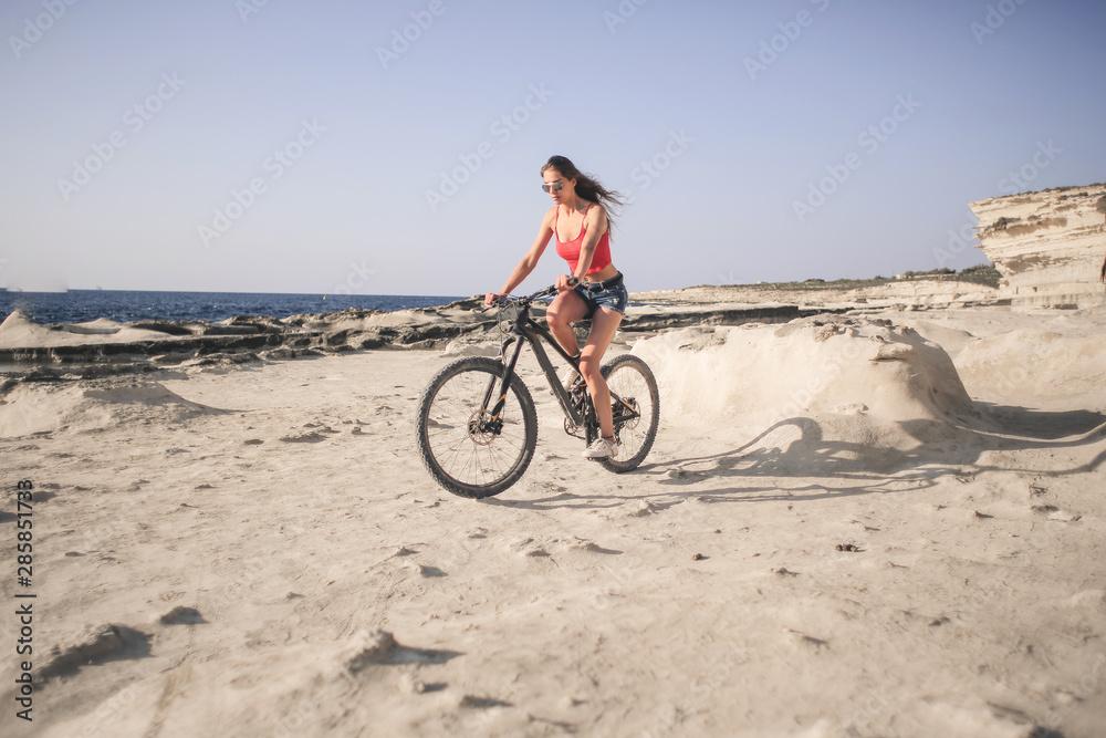 Fototapeta Sporty summer