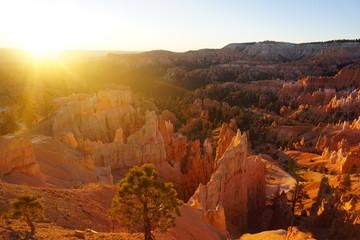 lever de soleil bryce canyon - utah - usa