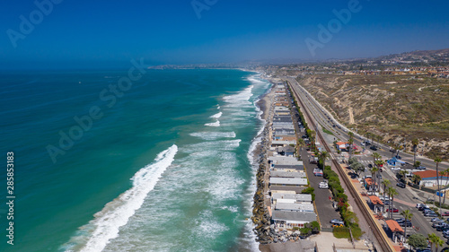 North Beach San Clemente looking North