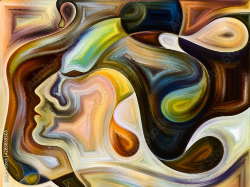 Quickening of Inner Colors Tableau sur Toile