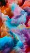 canvas print picture - Multicolored World