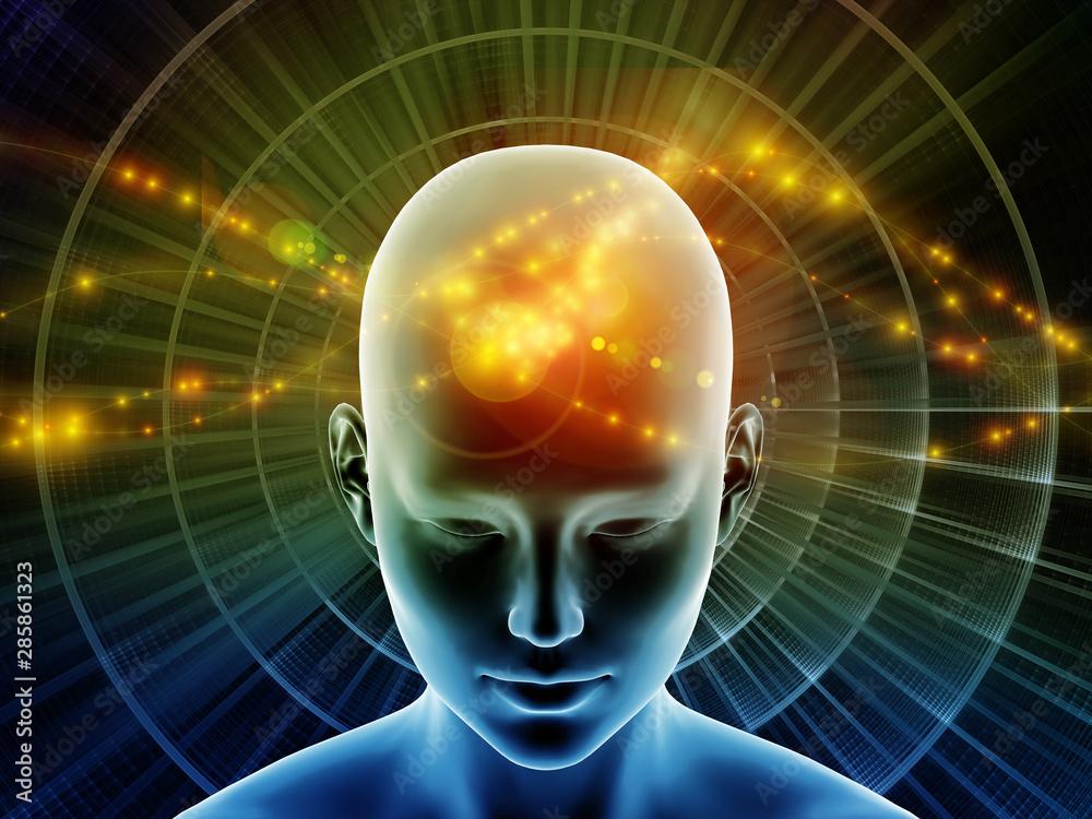Fototapety, obrazy: Mind Connection