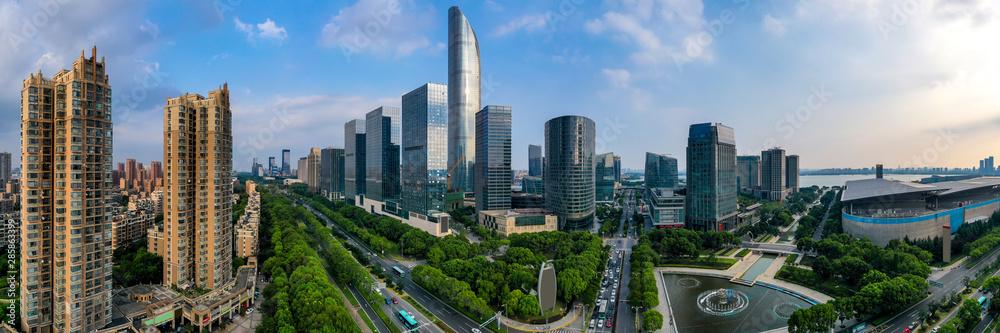 Fototapeta Urban landscape
