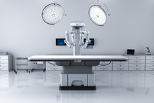Surgery Room With Robotic Surgery