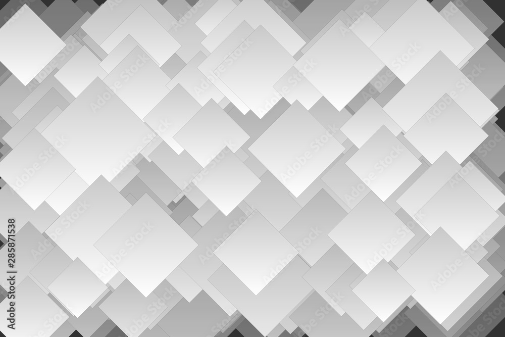 Abstract Geometric Squares