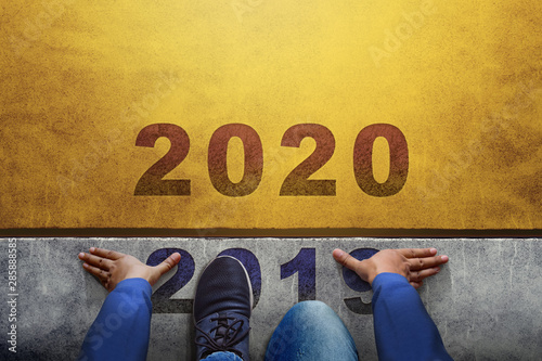 Vászonkép 2020 Year Concept