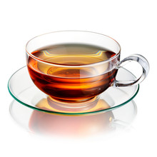 Cup Of Tea Isolated On White Table