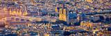 Fototapeta Fototapety Paryż - Notre Dame de Paris cathedral, France. Notre Dame de Paris Cathedral, most beautiful Cathedral in Paris. Picturesque sunset over Cathedral of Notre Dame de Paris, destroyed in a fire in 2019, Paris.