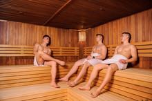 Close Up Photo Of 3 Men Restin...