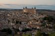Toledo Spain Europe, august 2019 the history of spain in each street of Toledo