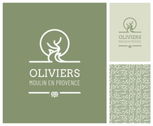 Dessin D'olivier Pour Producte...
