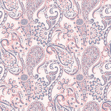 Paisley Vector Seamless Patter...