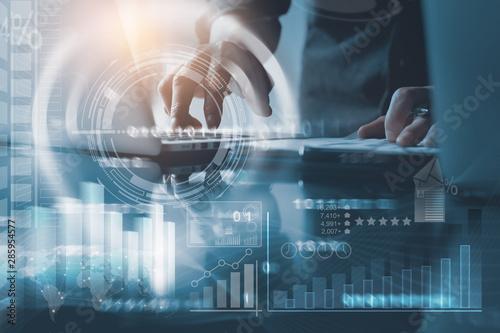Fototapeta Business and technology obraz