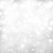 White Glitter Festive Background
