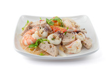 Thai Style Spicy Seafood Salad...