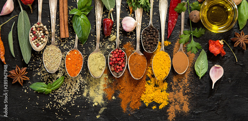 Fotografia Herbs and spices