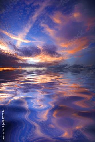 Fototapety, obrazy: Warm Sky