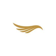 Bird Feathers Logo Template