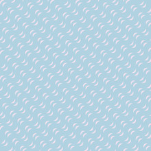 Colorful Wavy Lines Seamless Pattern. Vector Texture With Diagonal Curves