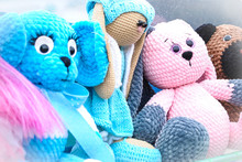 Soft Toys Bunnies And Seals