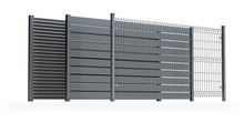 Fence Panel Collection, Isolat...