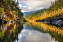 A Rainbow Of Fall Colors Is Re...