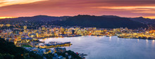 Wellington City And Harbour Fr...