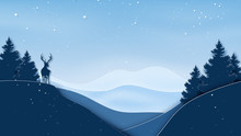 Paper Art Of Winter Season Lan...
