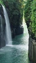 高千穂の真名井の滝