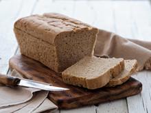 Fresh Homemade Bread, Partiall...