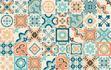 Seamless Pattern With Portugue...