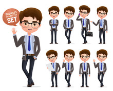 Business Man Vector Character ...