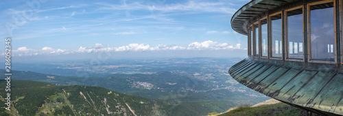 Fototapeta Karkonosze Mountains, Sniezka summit 1603 m n.p.m., Poland, Karkonosze National Park, obraz