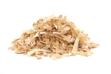 A Pile Of Yellow Sawdust Wood ...