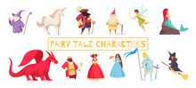 Fairy Tale Characters Set