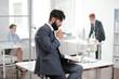 Successful Bearded Businessman