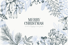 Christmas Hand Drawn Vector Gr...
