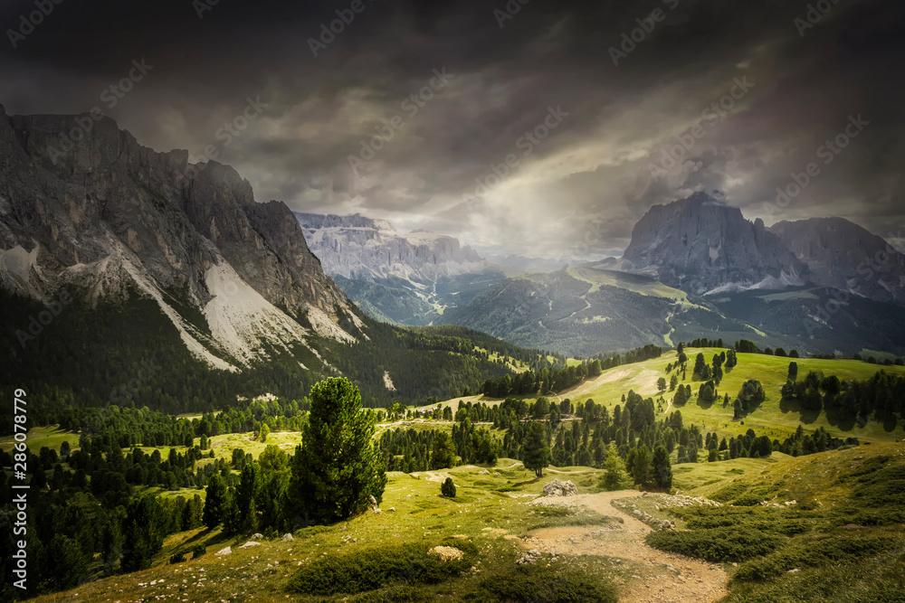 Fototapety, obrazy: Landschaft in Südtirol