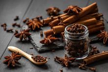 Cinnamon Sticks, Star Anise An...